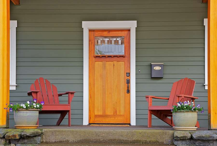 Attrayant A New Front Door Is One Of The Most Satisfying Remodeling Updates; It  Instantly Modernizes A Facade And Lends Your Home A Polished Look Without A  Massive ...