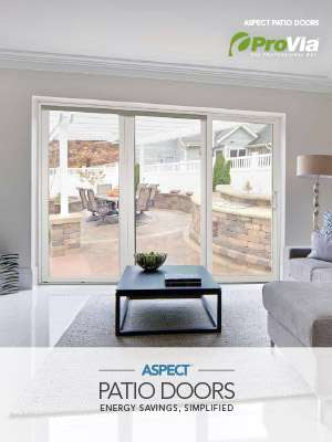 ProVia Aspect Patio Doors Brochure