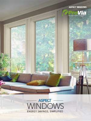 ProVia Aspect Windows Brochure