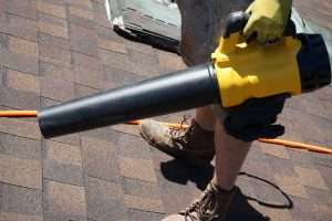 Is it ok to powerwash a roof